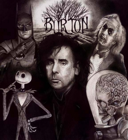 Tim Burton by hoffman